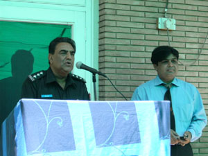 SSP Jhang, addressing convention at GSS